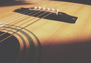 Acoustical guitar strings